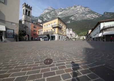 Binderi in porfido colorazione mista - Riva del Garda - Italia