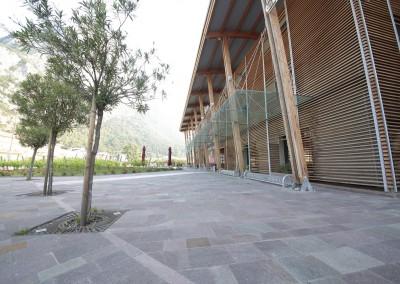 Piastrelle lati segati in porfido del Trentino - azienda privata - Trento
