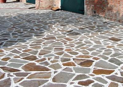 Porhyry irregular standard slabs