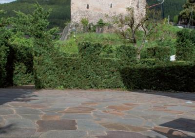 Porphyr unregelmässige Platten großformat - Segonzano Italien