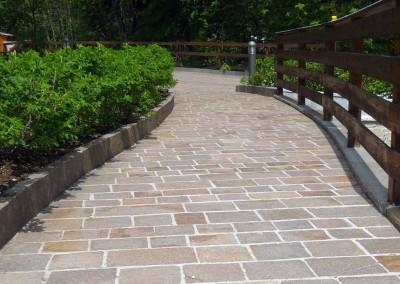 Porphyry tiles split sides free length