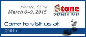 Xiamen Stone fair banner