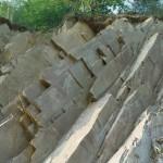 Cava di porfido stratificato