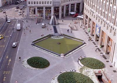 Площадь Сан Бабила Милан Италия