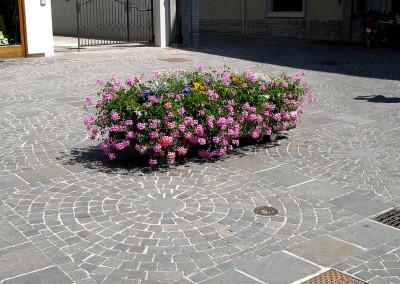 жилая зона Кортина Тренто Италия