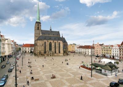 площадь Пльзень Польша