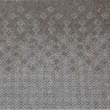 Realizzazione della texture Arlecchino su superficie fiammata.
