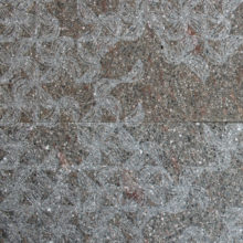 Texture Daphne engraved on porphyry with brushed surface