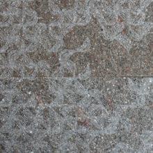 Texture Daphne incisa su porfido con superficie spazzolata