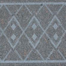 Texture Pompei realizzazione con geometrie molto raffinate eseguita su superficie spazzolata
