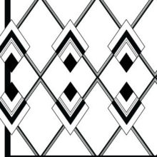 Riproduzione in bianco e nero della texture Pompei