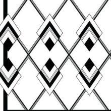 Black and white design of texture Pompei