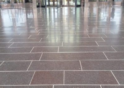 South Korea porphyry brushed tiles