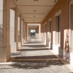 Innere Porphyrpassagen im Mormonen Tempel von Rom