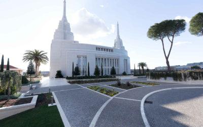 Der Mormonen Tempel von Rom