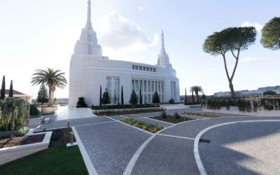 The Mormon Temple in Rome