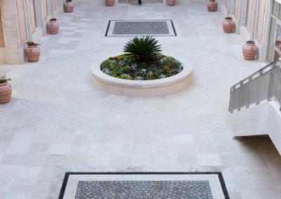 Tempio Mormone cortile interno