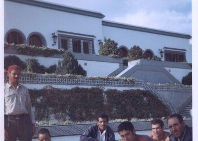 Tunisi - Palazzo presidente Burghiba 1968