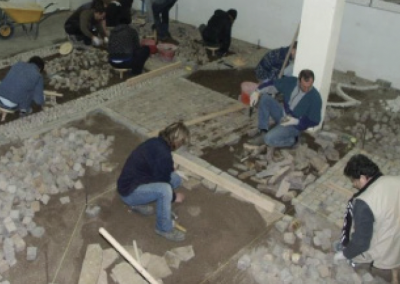 3) Specific first level courses for porphyry installation