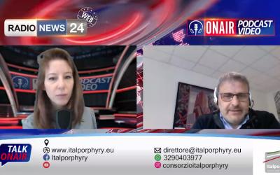Andrea Angheben racconta il porfido – Intervista Radio News 24